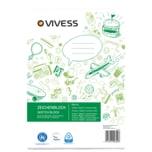 Vivess Zeichenblock A4 10 Blatt