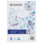 Vivess Schulblock A4 liniert