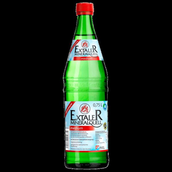 Extaler Mineralwasser Medium 0,75l