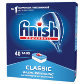 Finish Calgonit Classic Tabs 40 Tabs