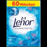 Lenor Vollwaschmittel Weiße Wasserlilie 60WL, 3,9kg