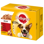 Pedigree Hundefutter Adult in Gelee 12x100g