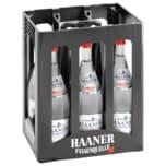 Haaner Felsenquelle Mineralwasser Feinperlend 6x1l