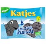 Katjes Lakritz Salzige Heringe vegan 200g