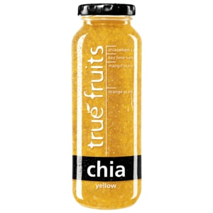True Fruits Chia Smoothie yellow 250ml