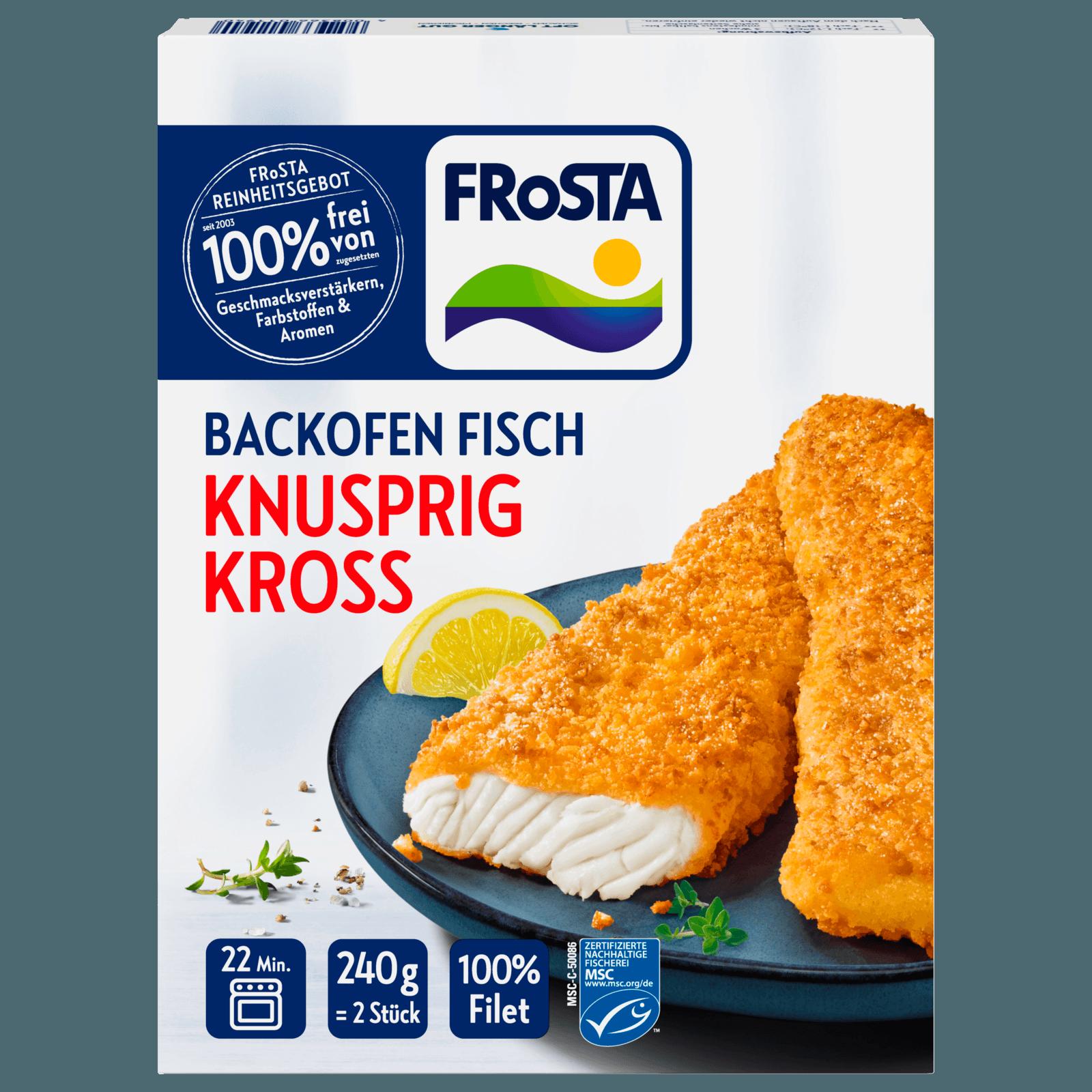 Frosta Backofenfisch Knusprig Kross 240g