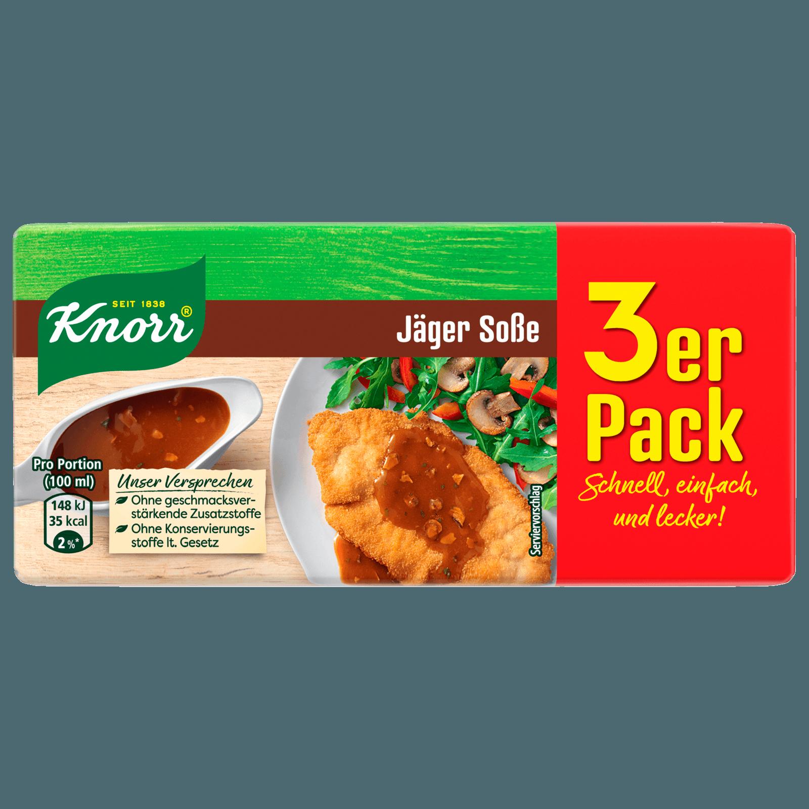 Knorr Jäger Soße 3 x 250 ml