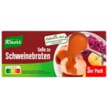 Knorr Soße zu Schweinebraten 3x0,25l