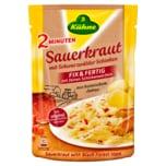 Kühne Sauerkraut Fix und Fertig mit Schinken 400g