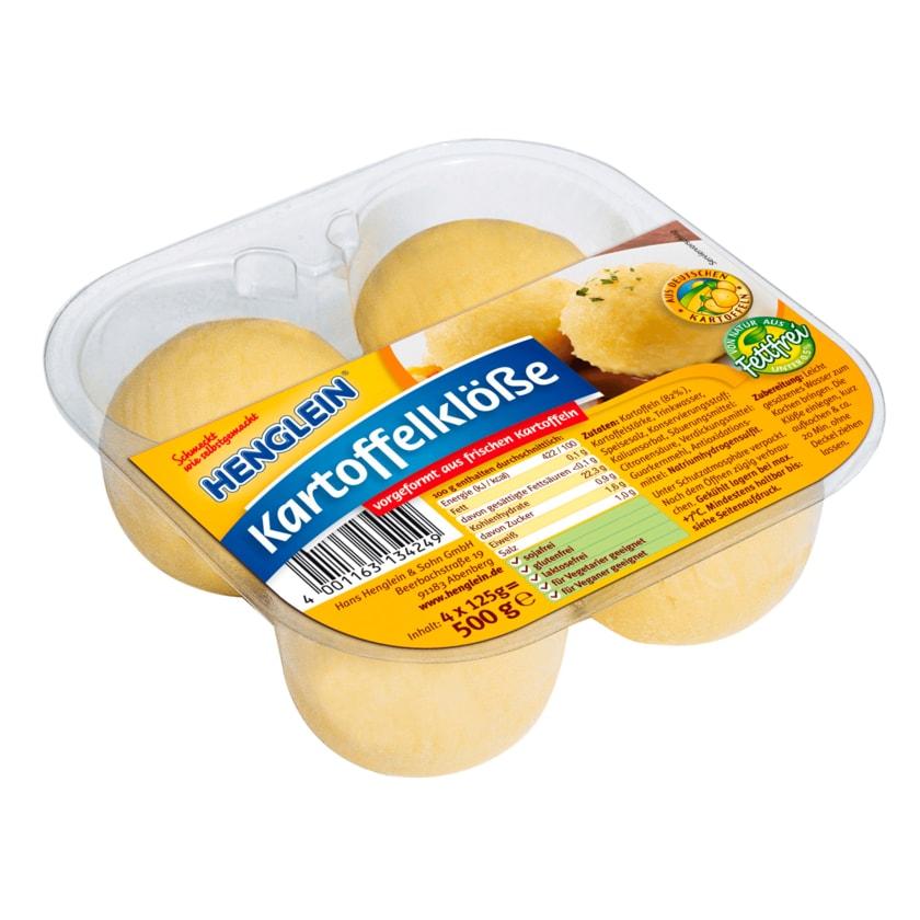 Henglein Kartoffelklöße 4x125g