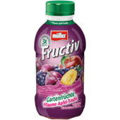 Müller Fructiv Pflaume-Apfel-Traube 440ml