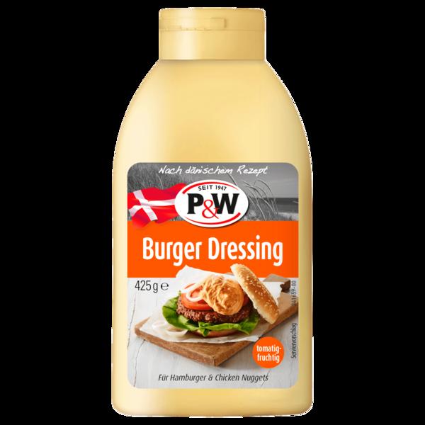 P&W Burger Dressing 425 g