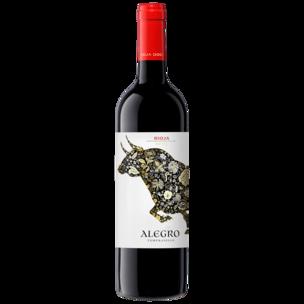 Alegro Rotwein Tempranillo Rioja halbtrocken 0,75l