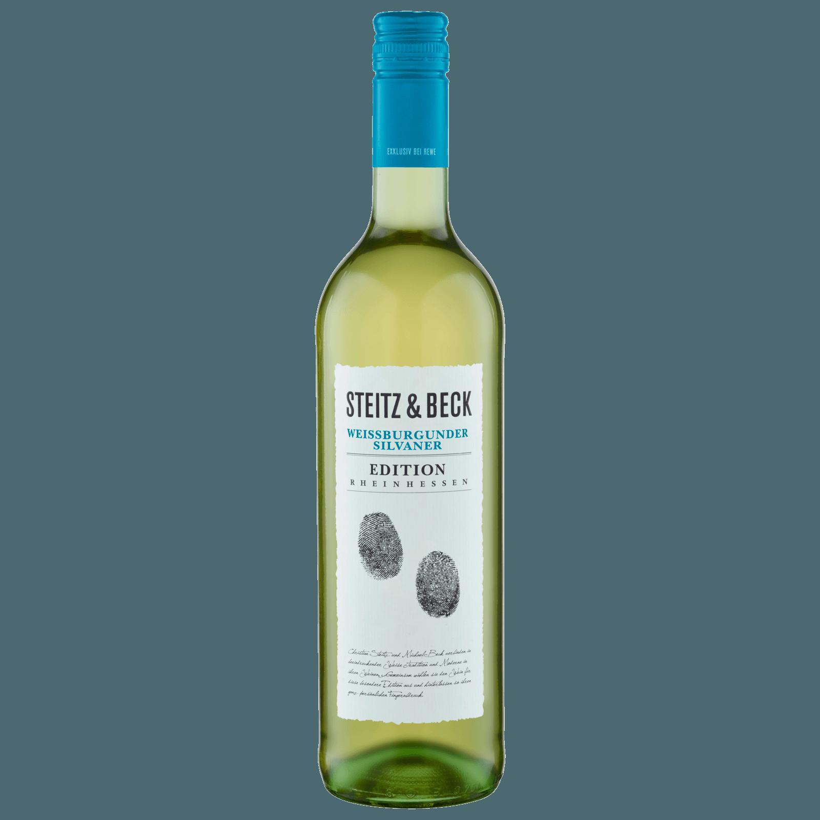 Steitz & Beck Rheinhessen Silvaner Weißburgunder trocken 0,75l