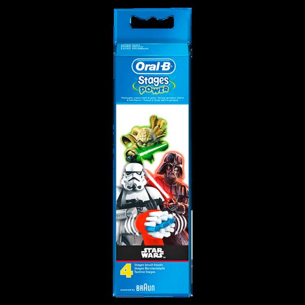 Oral-B Aufsteckbürsten Stages Power Star Wars Edition 4 Stück