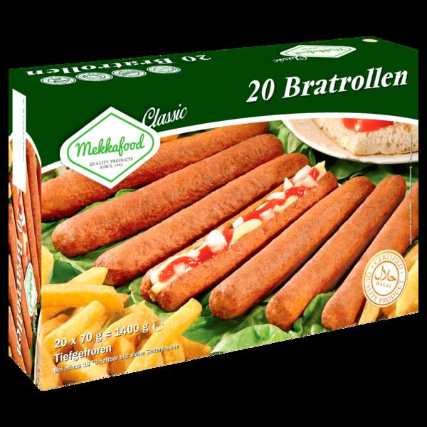 Mekkafood Hähnchen-Rollies 1,4kg