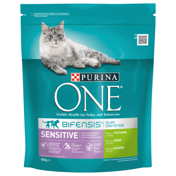 Purina One Sensitive Truthahn 800g