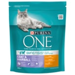 Purina One Bifensis Defense Coat & Hairball reich an Huhn 800g
