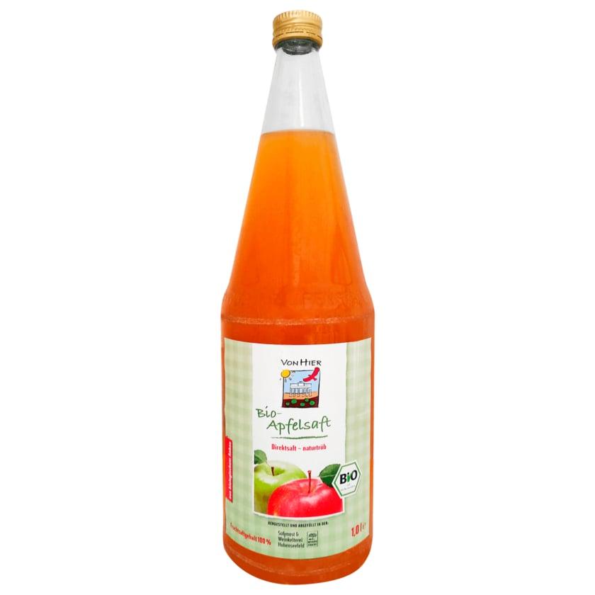 Gut Schmerwitz Bio Apfelsaft naturtrüb 1l