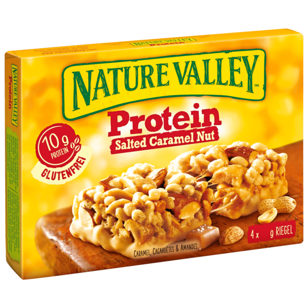 Nature Valley Proteinriegel Salted Caramel 4x40g