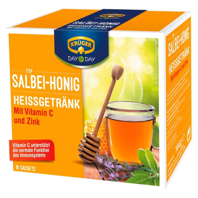 Krüger Heißgetränk Salbei-Honig 144g, 18 Beutel