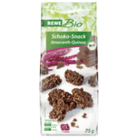 REWE Bio Schoko-Snack Amaranth-Quinoa 75g