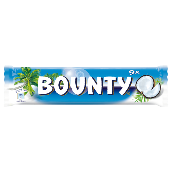 Bounty Schokoriegel Multipack 9x28,4g