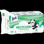 ja! Recycling Toilettenpapier 2-lagig 8x200 Blatt
