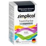 Simplicol Textilfarbe expert Mitternacht-Schwarz 150g