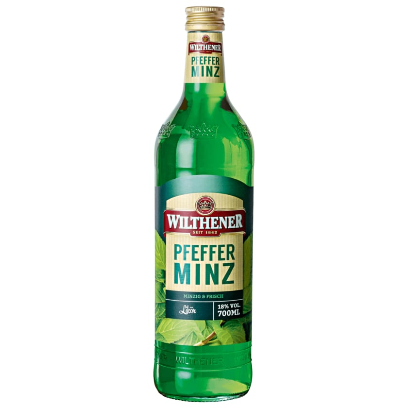 Wilthener Pfefferminz 18% 0,7l