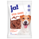 Ja! Hundefutter Speck Snack 85g