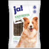 JA! Hundefutter Kaustreifen mit Pansen 200g