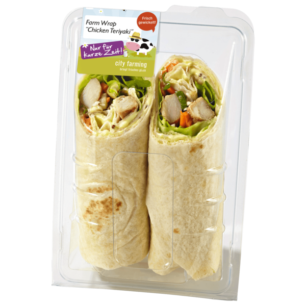 City Farming Chicken Teriyaki Wrap 200g