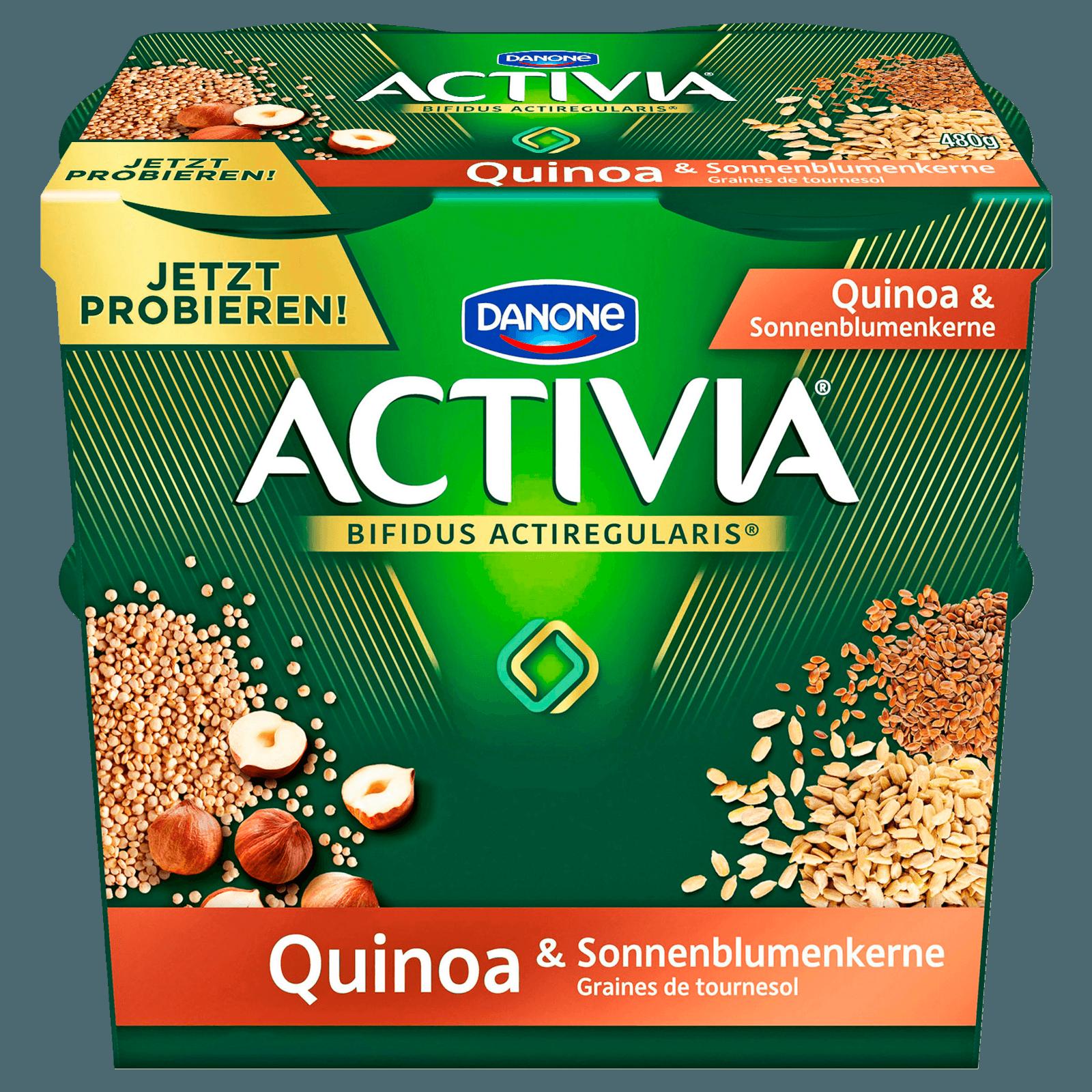 Danone Activia Quinoa 4x120g