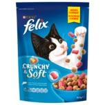 Purina felix Crunchy&Soft mit Lachs, Thunfisch und Gemüse 950g