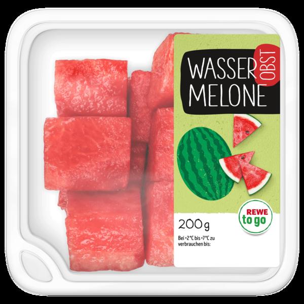 REWE to go Wassermelonenwürfel 200g