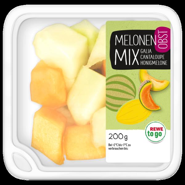 REWE to go Melonenwürfel Mix 200g