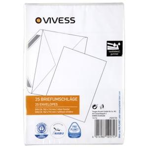 Vivess Briefumschlag C6 25 Stück