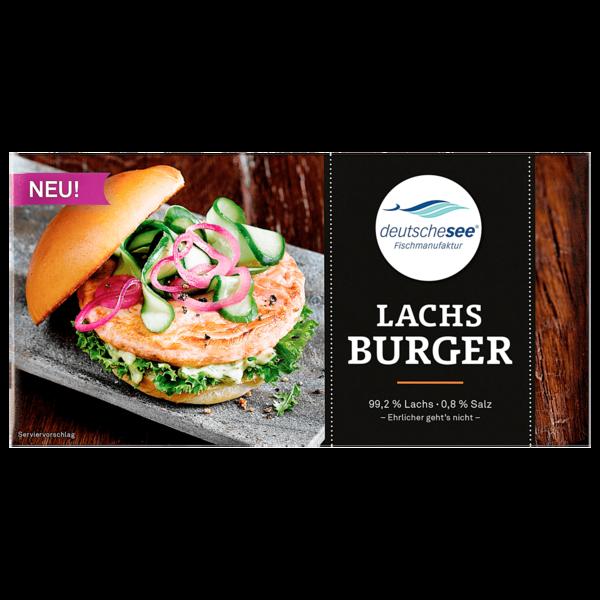 Deutsche See Lachs Burger 175g
