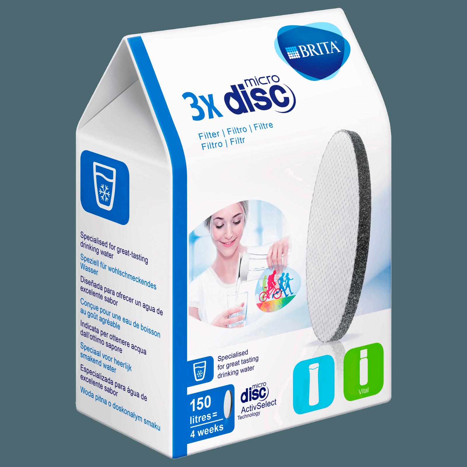 Brita MicroDisc Filter 3 Stück