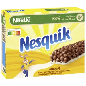 Nestle Nesquik Riegel Mit 3getreidesorten 4x25g Bei Rewe Online