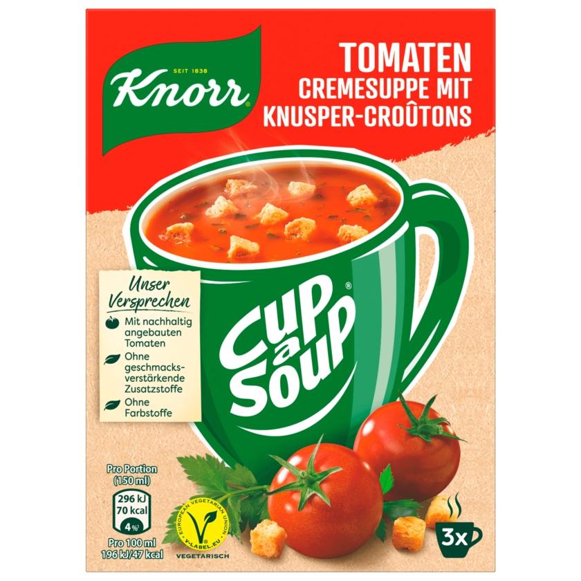 Knorr Tomaten Cremesuppe mit Knusper-Croutons 3x19g, 57g