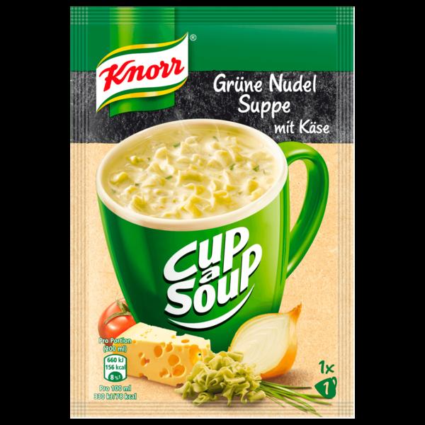 Knorr Cup a Soup Grüne Nudelsuppe mit Käse 200ml