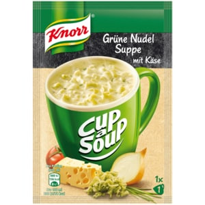 Knorr Cup a Soup Grüne Nudelsuppe mit Käse 200ml