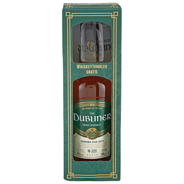 The Dubliner Irish Whiskey Bourbon Cask Aged 0,7l