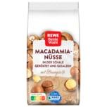 REWE Beste Wahl Macadamia geröstet und gesalzen 200g