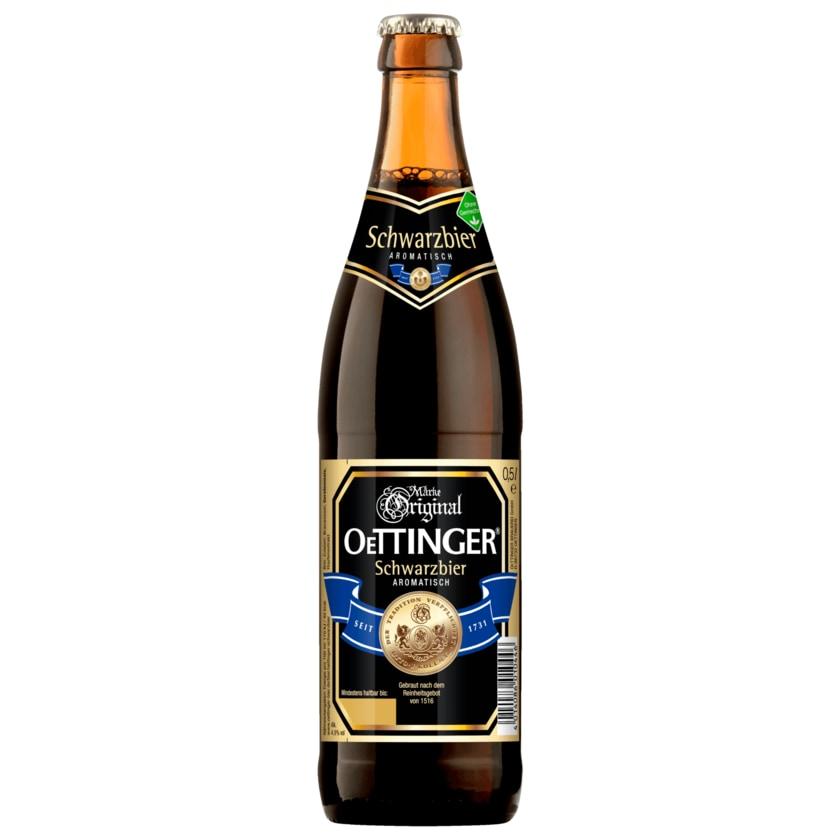 Original Oettinger Schwarzbier 0,5l