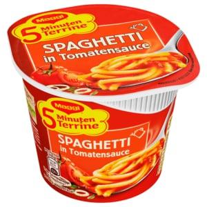 Maggi 5 Minuten Terrine Spaghetti in Tomatensauce 60g
