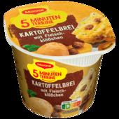 Maggi 5 Minuten Terrine Kartoffelbrei mit Fleischklößchen 46g