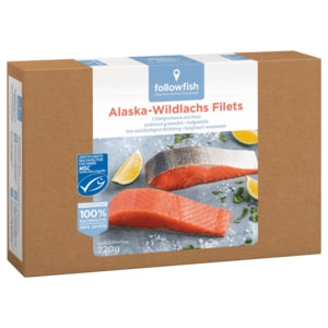 Followfish Alaska-Wildlachs MSC 220g
